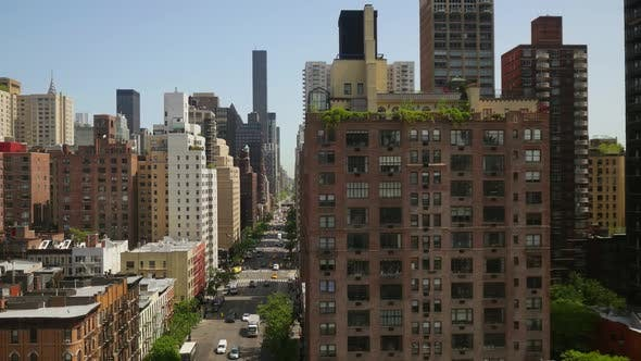 Thumbnail for Establishing Shot Manhattan New York City Skyline Business District