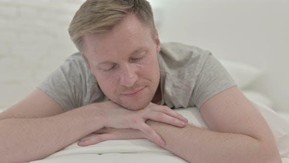 Thumbnail for Close Up of Man Taking a Nap