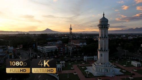 AH - Minaret of Baiturrahman Grand Mosque 07