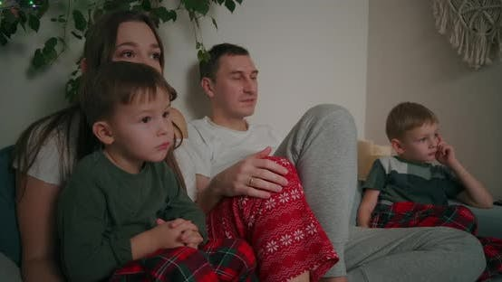 Thumbnail for Family Watching Tv