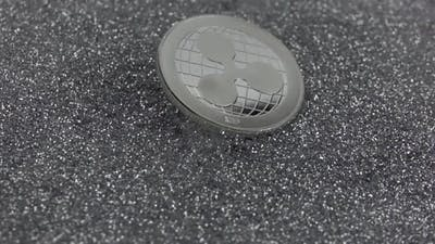 Ripple Cryptocurrency Falls on Silver Sparkles