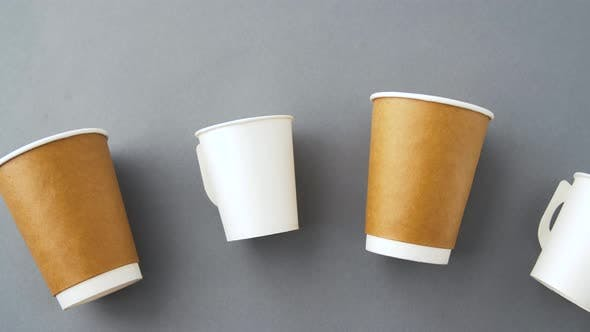 Thumbnail for Various Disposable Paper Cups for Hot Drinks 5