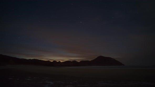 Thumbnail for Nightfall on the beach