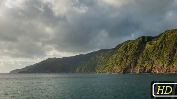 Sao Miguel Island's Coastline, Azores