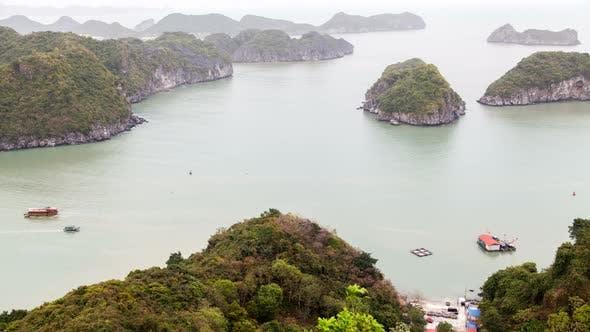 Thumbnail for Ha Long Bay Landscape, Vietnam Timelapse