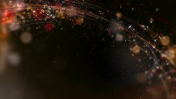 Thumbnail for Gold Christmas Background