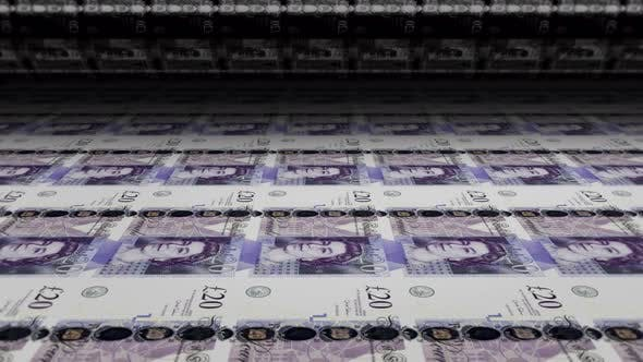Cover Image for Printing Money British Pounds