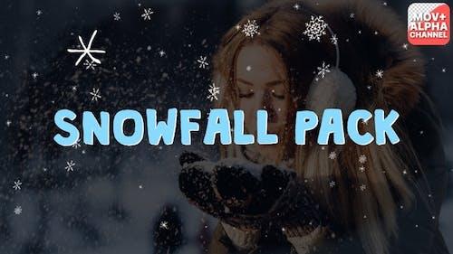 Snowfall Elements | Motion Graphics