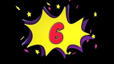 Top Ten Numbers Package