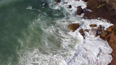 Sea In Asturias, Spain