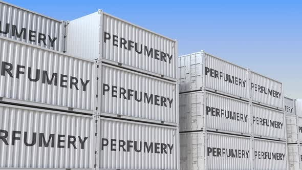 Cargo Containers with Perfumery