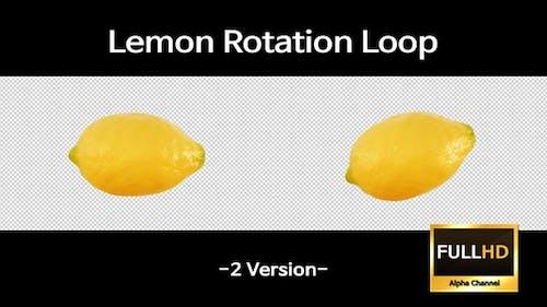 Zitronen-Rotationsschleife (2-Version)