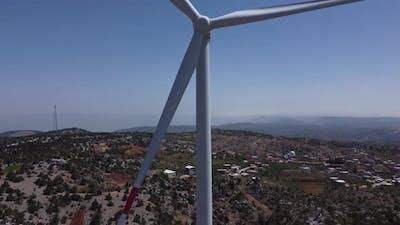 Moving Windmill Turbine