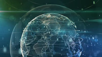 Global Communication Network of Digital Technologies of the Earth