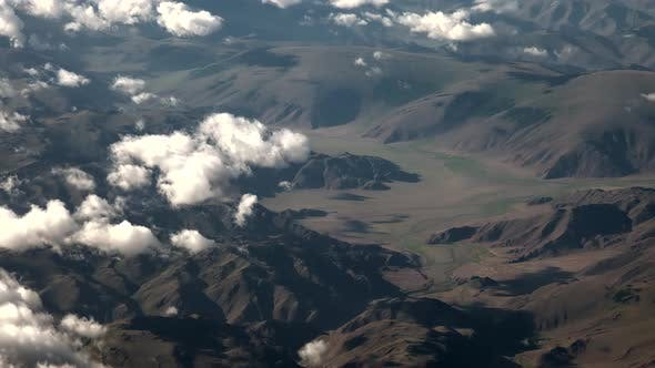 Topography of Tajikistan
