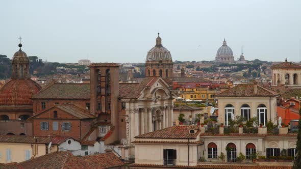 Thumbnail for Panoramic View of Historic Center of Rome