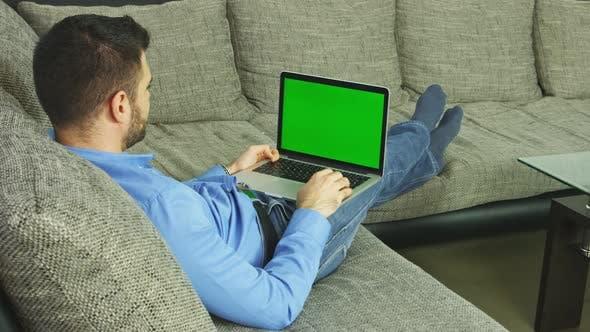 Thumbnail for Green Screen Mockup