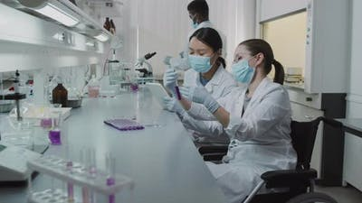 Women Doing Research in Laboratory