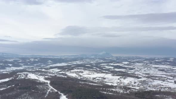 Mountain Rtanj in Eastern Serbia 4K drone footage
