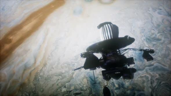 Thumbnail for Galileo Spacecraft Orbiting Jupiter