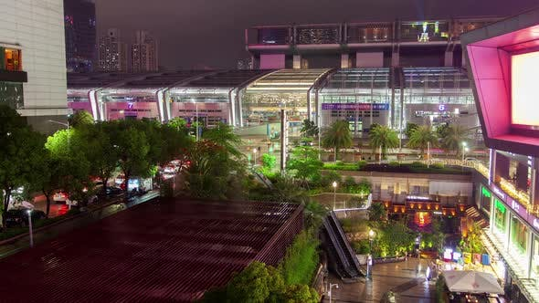 Cover Image for Timelapse Famous Shenzhen Convention Exhibition Center
