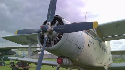 Old Propeller Aircraft