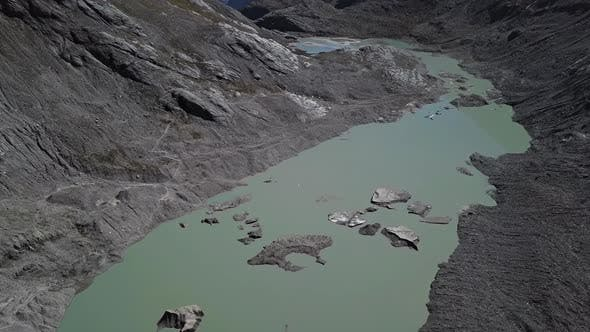 Thumbnail for Aerial of Grossglockner Glacier Lake, Austria