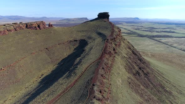 Thumbnail for View from air of the Monument historical In Khakassia