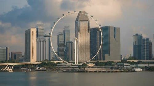 Singapore Flyer City View