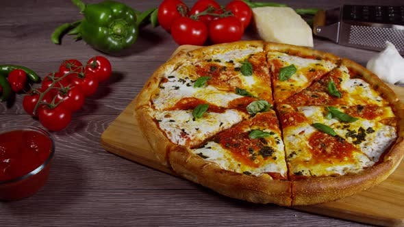 Thumbnail for Italian Pizza Margarita 71
