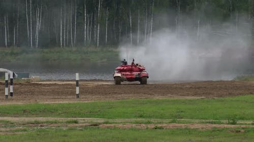 Tanks, Modern military equipment, equipped with sophisticated combat systems
