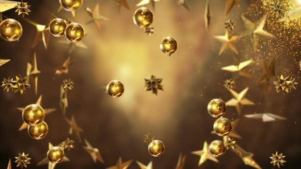 Gold Christmas Item's