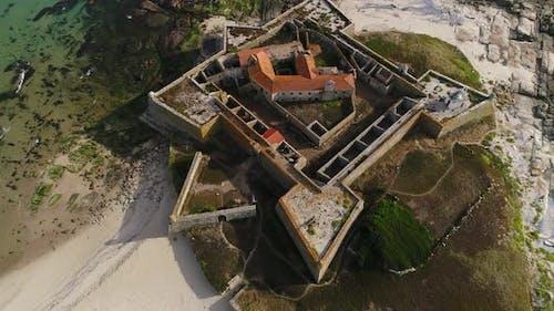 Castle on the Atlantic Ocean