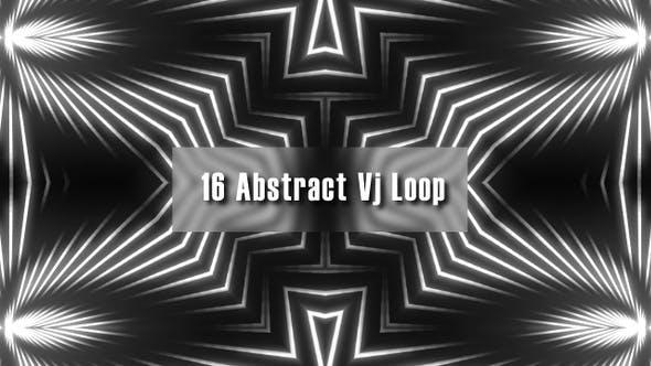 Thumbnail for 16 Abstract Vj Loop
