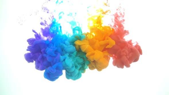 Candy Color Paints Mix