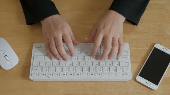 Thumbnail for Typing Computer Overhead
