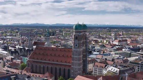 AS Landmark Frauenkirche in Munich, Germany
