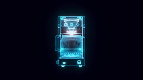 Coffee Maker Hologram Hd