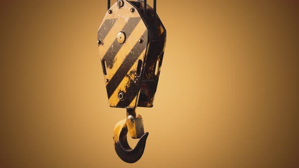 Thumbnail for Old Lifting Metal Crane Hook