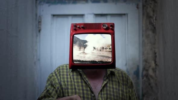 Geyser Field TV Man.