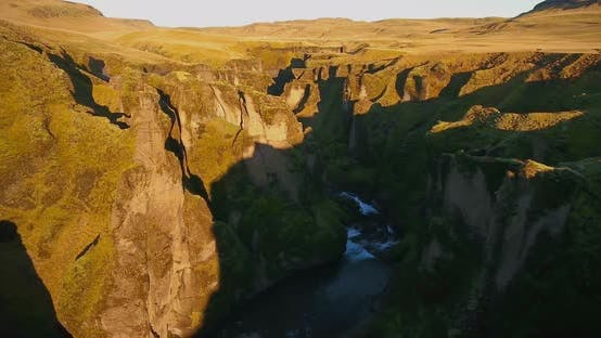 Thumbnail for Fjadrargljufur Canyon Iceland