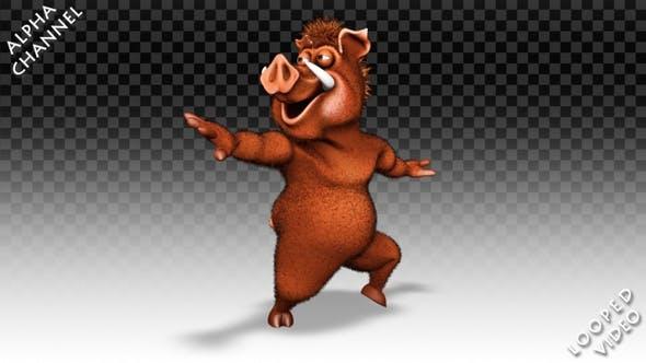 Comic Boar - Dance Greasy
