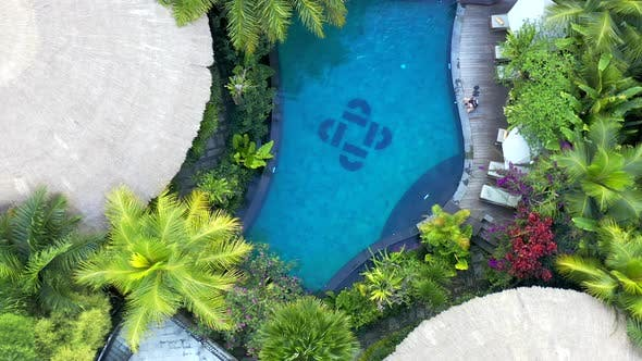 Luxury Hotel Resort Tropical Infinity Swimming Pool and Deluxe Villas Secluded Accommodation on
