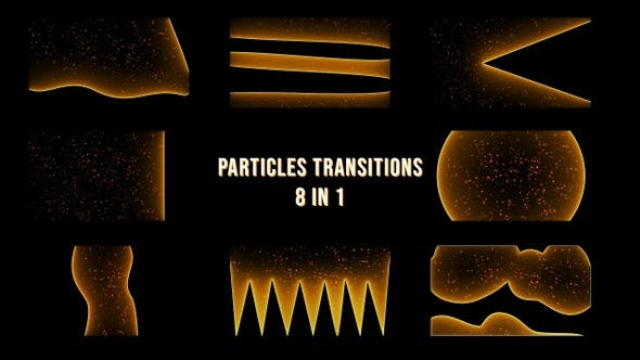 Particles Transitions Pack