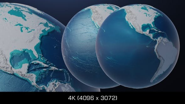 Cover Image for Earth Globe Oceans