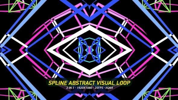 Thumbnail for Spline Abstrakte visuelle Schleife