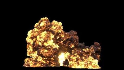 Gasoline Explosion