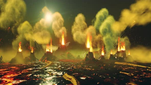 Cover Image for 4K Fire Geysers