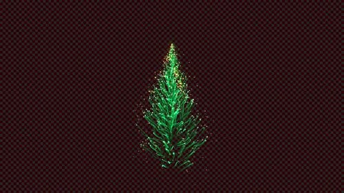 Magic Abstract Christmas Tree