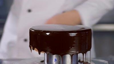 Glaze Chocolate Cake